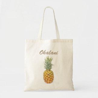 Pineapple with Name Tote Bag