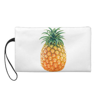 Pineapple Wristlet Purse