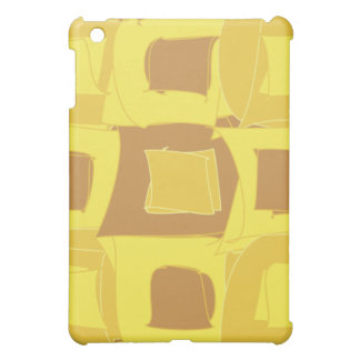 Pineapple Yellow Fruit Abstract Design Pattern Cover For The iPad Mini