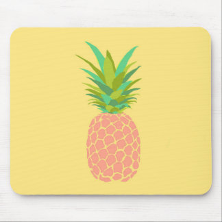 Pineapple +Yellow Mouse Pad