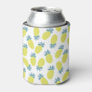 Pineapple Yummy Yellow Summer Fruit Can Cooler