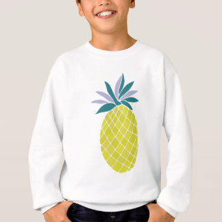 Pineapple Yummy Yellow Summer Fruit Sweatshirt
