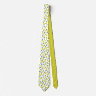 Pineapple Yummy Yellow Summer Fruit Tie