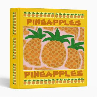 Pineapples Binder