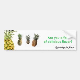 Pineapples Bumper Sticker