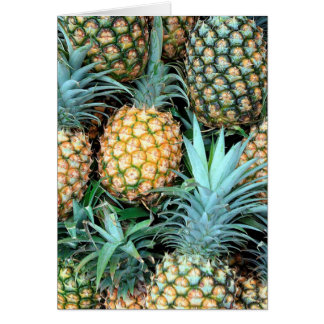 Pineapples Bunch Card