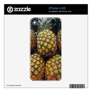 Pineapples Decal For The iPhone 4