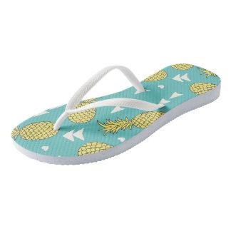 Pineapples Flip Flops