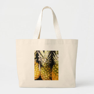 Pineapples for Sale Large Tote Bag