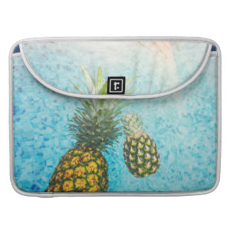 Pineapples in Swimming Pool Sleeve For MacBook Pro