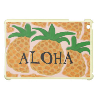 PINEAPPLES iPAD Customizable Hard Shell Case Cover For The iPad Mini