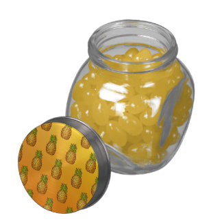 Pineapples Jelly Belly Candy Jars