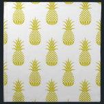 "Pineapples Napkin<br><div class=""desc"">pineapple patterned cloth napkin</div>"