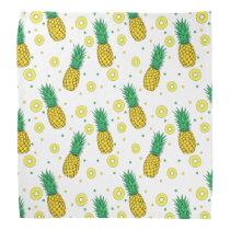 Pineapples pattern bandana