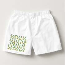 Pineapples pattern boxers