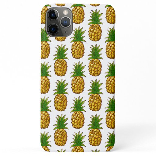Pineapples Pattern Pineapple Print iPhone 11 Pro Max Case