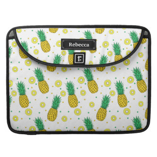 Pineapples pattern sleeve for MacBooks