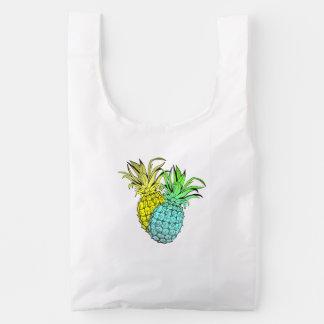 Pineapples Reusable Bag