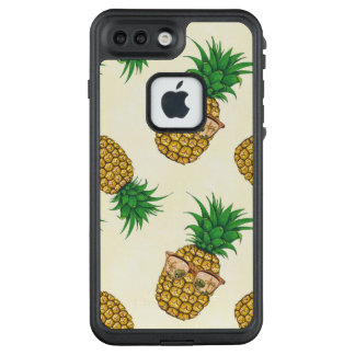 Pineapples with Sunglasses Hand Painted LifeProof FRĒ iPhone 7 Plus Case
