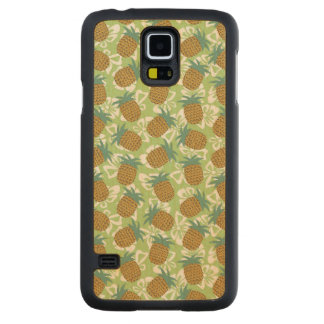 Pineapples Carved® Maple Galaxy S5 Case
