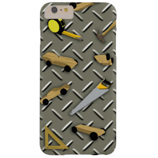 Pinecar Woodshop Barely There iPhone 6 Plus Case
