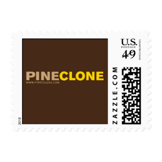 PINECLONE LOGO postage stamp