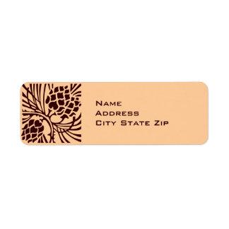 Pinecone Address Return Address Labels