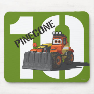 Pinecone Character Art Mouse Pad