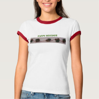 Pinecone Garland, HAPPY HOLIDAYS T-Shirt