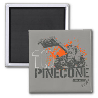 Pinecone Graphic Magnet