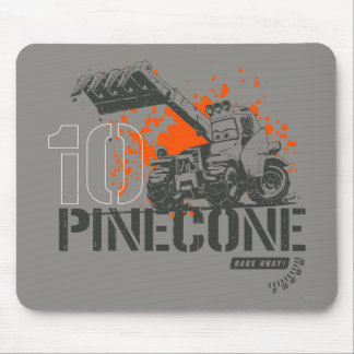 Pinecone Graphic Mouse Pad
