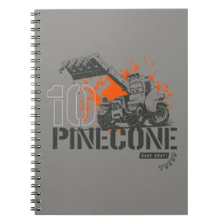 Pinecone Graphic Notebook
