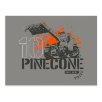 Pinecone Graphic Postcard