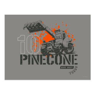 Pinecone Graphic Postcard