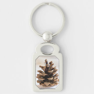 Pinecone Keychain