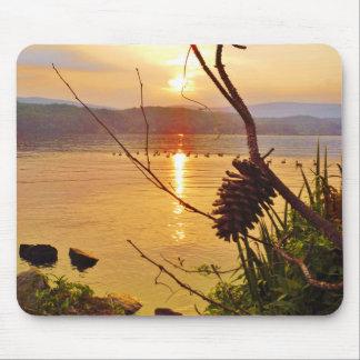 Pinecone Lake sunset Mouse Pad