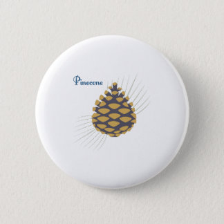 Pinecone Pinback Button