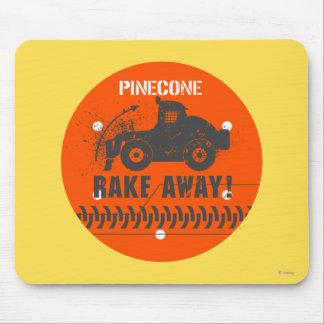 Pinecone Rake Away! Mouse Pad