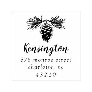 Pinecone | Return Address Self-Inking Stamp