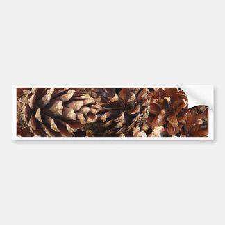pinecones, allover bumper stickers