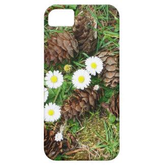 Pinecones and Diasies case iPhone 5 Cases