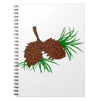 Pinecones Cuaderno