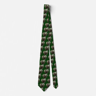 Pinecones en lazo del corazón de la nieve corbata personalizada