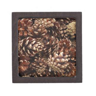 pinecones, por todas partes cajas de joyas de calidad
