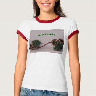 Pinecones,  Season's Greeting T-Shirt