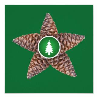 Pinecones star card