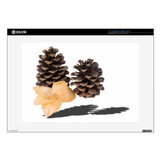 "PineconesDriedFlower061315.png Skins For 15"" Laptops"