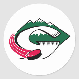 Pinedale Glaciers Stickers
