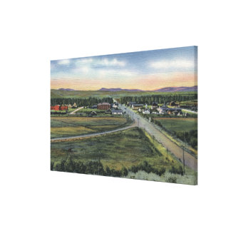 Pinedale, WY - County Seat of Sublette County Canvas Print
