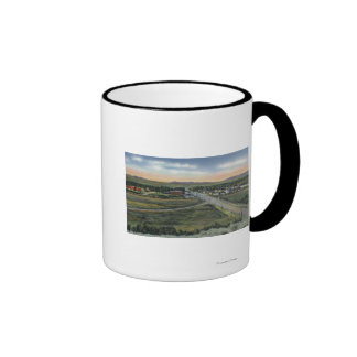Pinedale, WY - County Seat of Sublette County Mugs